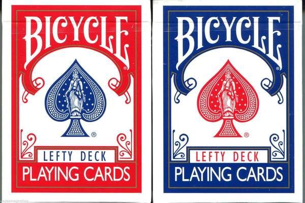 Baralho Bicycle Lefty Deck (Edição para Canhotos)