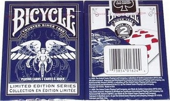 BARALHO BICYCLE LIMITED EDITION SERIE 2  - AZUL