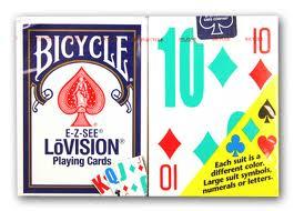 BARALHO BICYCLE LOVISION - VERELHO