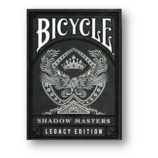 Baralho Bicycle Master Edition Shadow - Legacy Edition  B+
