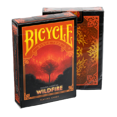 Baralho Bicycle Natural Disasters Wildfire