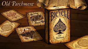 BARALHO BICYCLE OLD PARCHMENT