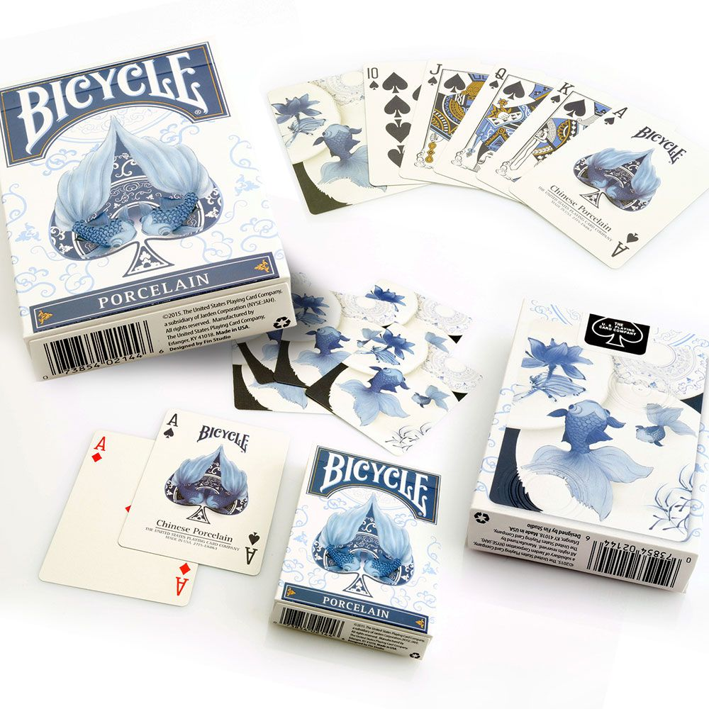 Baralho Bicycle Porcelain R+