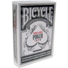 BARALHO BICYCLE PRETA - WORLD SERIE POKER