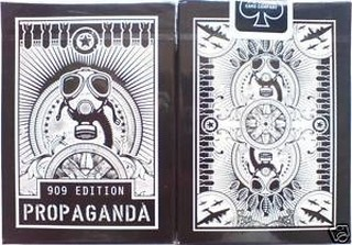BARALHO BICYCLE PROPAGANDA EDITION 909 DA THEORY 11 -  PRETO