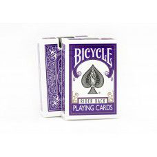 Baralho Bicycle rider back fashion violeta purple