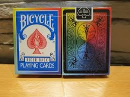 Baralho Bicycle  Rider Rainbow Deck V2