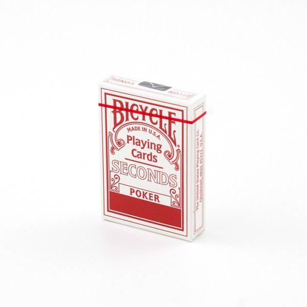Baralho Bicycle Seconds azul ou vermelho escolhe sua cor M+