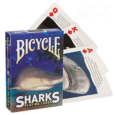 Baralho Bicycle - Sharks- Tubarão  R+