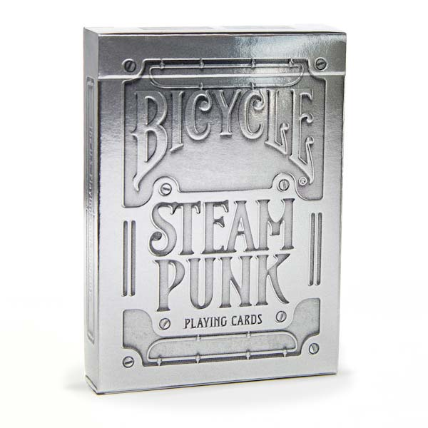 Baralho Bicycle Steampunk Silver R+