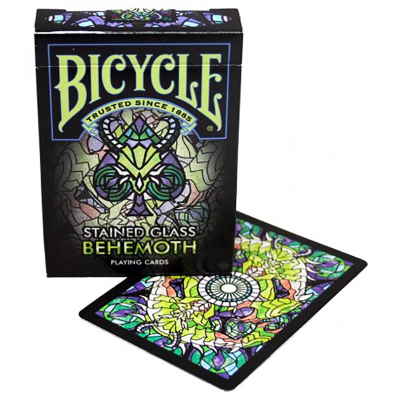 Baralho Bicycle Stained Glass Behemoth b+