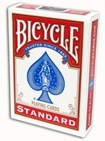 Baralho Bicycle Standard  Vermelho R+