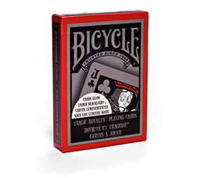 Baralho Bicycle Tragic Royalty Black Light R+