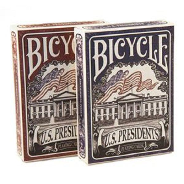 Baralho Bicycle - U.s Presidents Azul Ou Vermelho B+
