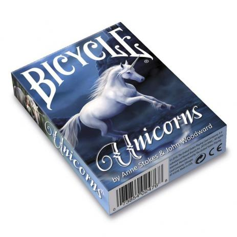 Baralho anne Strokes Bicycle Unicorns B+