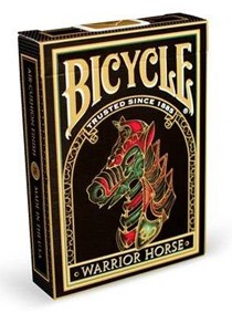 Baralho Bicycle Warrior Horse - Baralho com cavalo R+