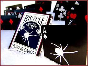 BARALHO BLACK SPIDER DECK