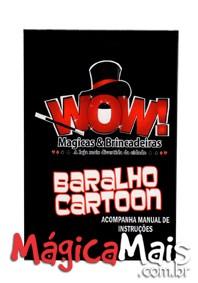 BARALHO CARTOON WOW ANIMATION