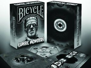 Baralho Classic Monster Bicycle, baralho com monstros B+