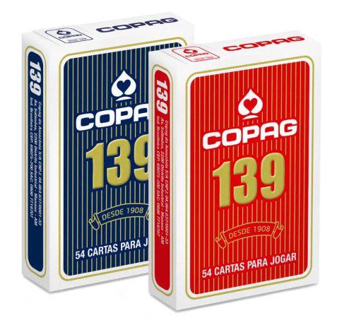 Baralho Copag 139 - Azul ou Vermelho
