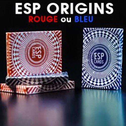 Baralho E.S.P  esp cartas para mentalistas marca Origins B+