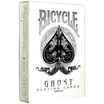 Baralho Ghost White (Branco) - Ellusionist R+