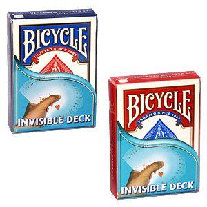 Baralho Invisível Bicycle ( Vermelho e Azul) M+