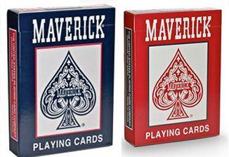Baralho Maverick - Azul ou Vermelho