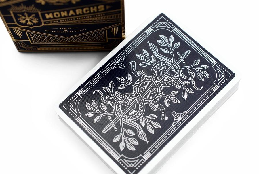 Baralho Monarch Azul - Blue Monarch  - Theory11 -  Premium  R+