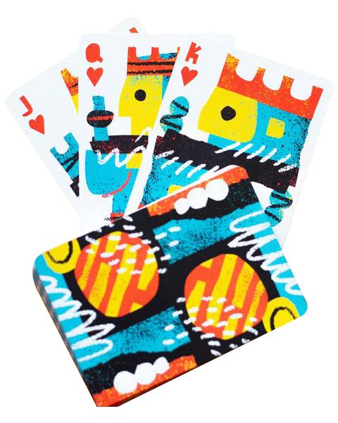 Baralho Off The Wall -  Art Of Playing Cards B+