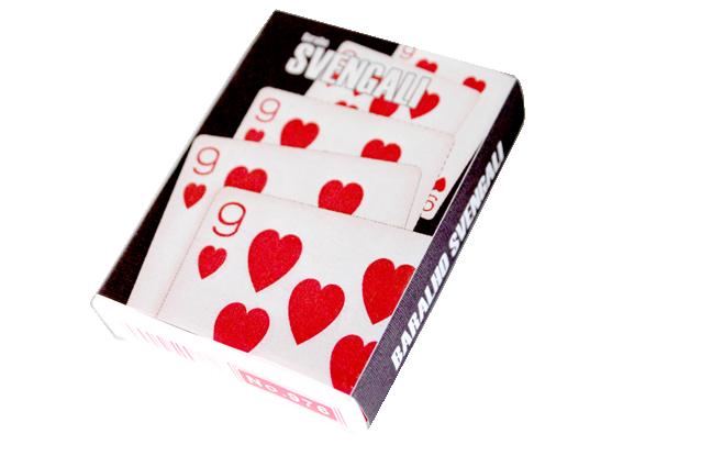 Baralho Svengali ou radio - Magica onde todas as cartas viram iguais  R+