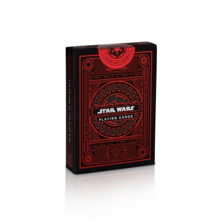Baralho  Star Wars Dark Side vermelho - Vermelho,  Theory 11