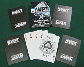 BARALHO poker WPT DIAMOND PRETO