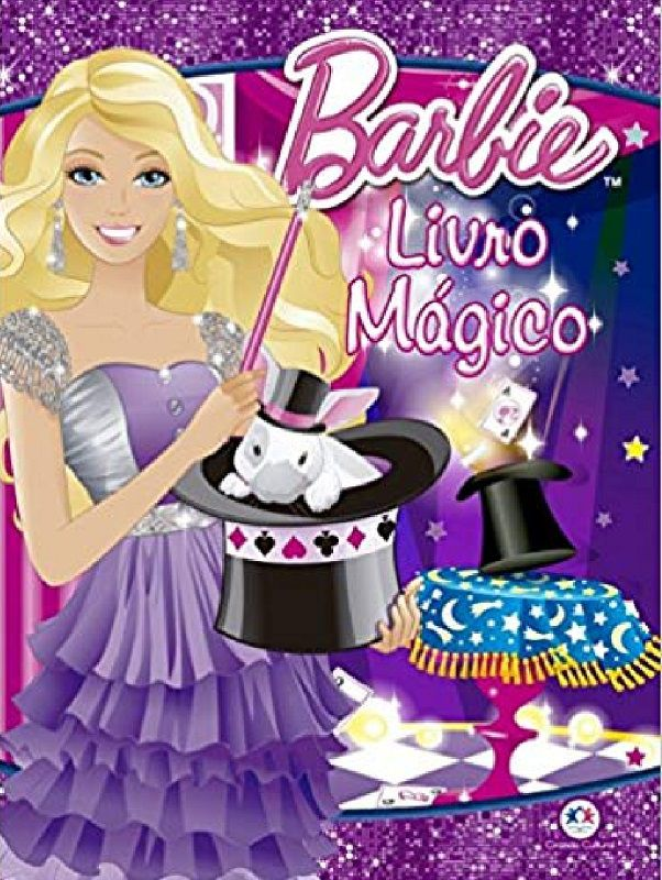 Barbie Livro Mágico 3 Way B+