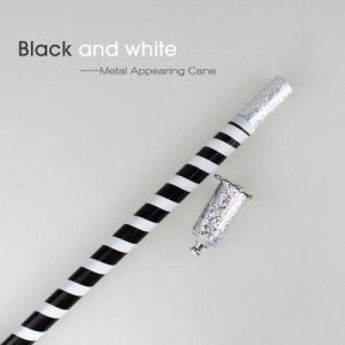 Bengala Aparição Listrada Branca com Preto - Metal M+