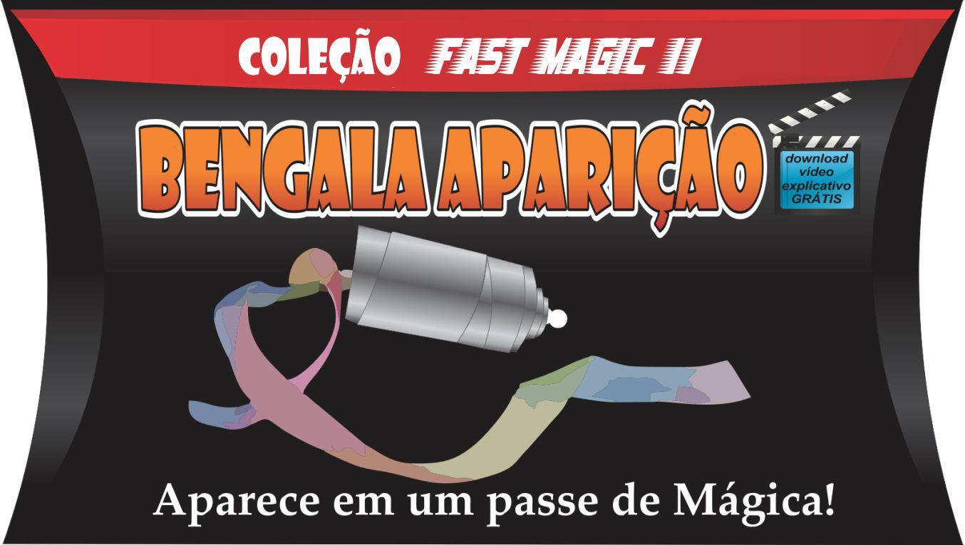 Bengala Aparição Rosa - Coleção Fast Magic N 11 B+