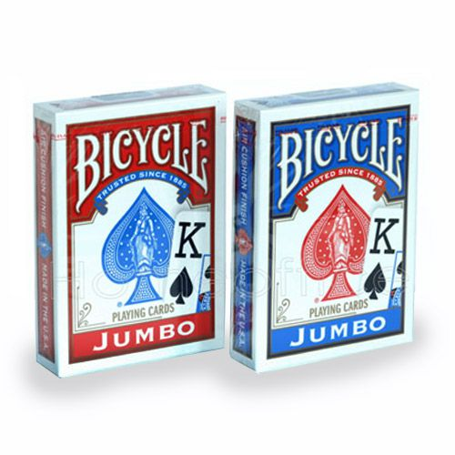 Bicycle Standard Jumbo Index excelente para poker  R+