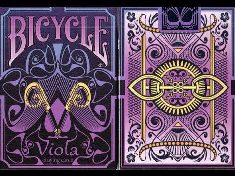 Baralho Bicycle viola B+