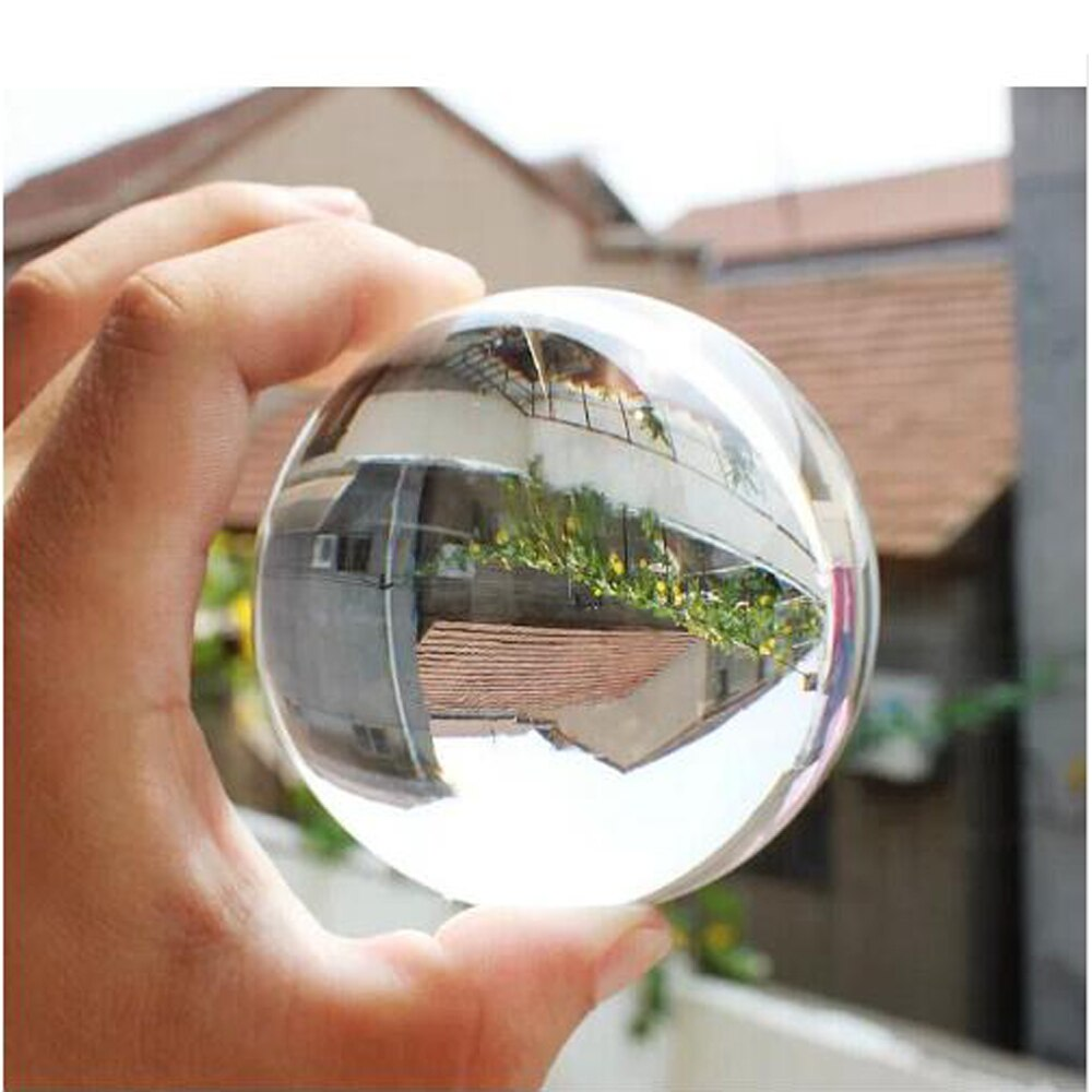 Bola de contato tipo cristal para magicas e malabarismo 70 MM