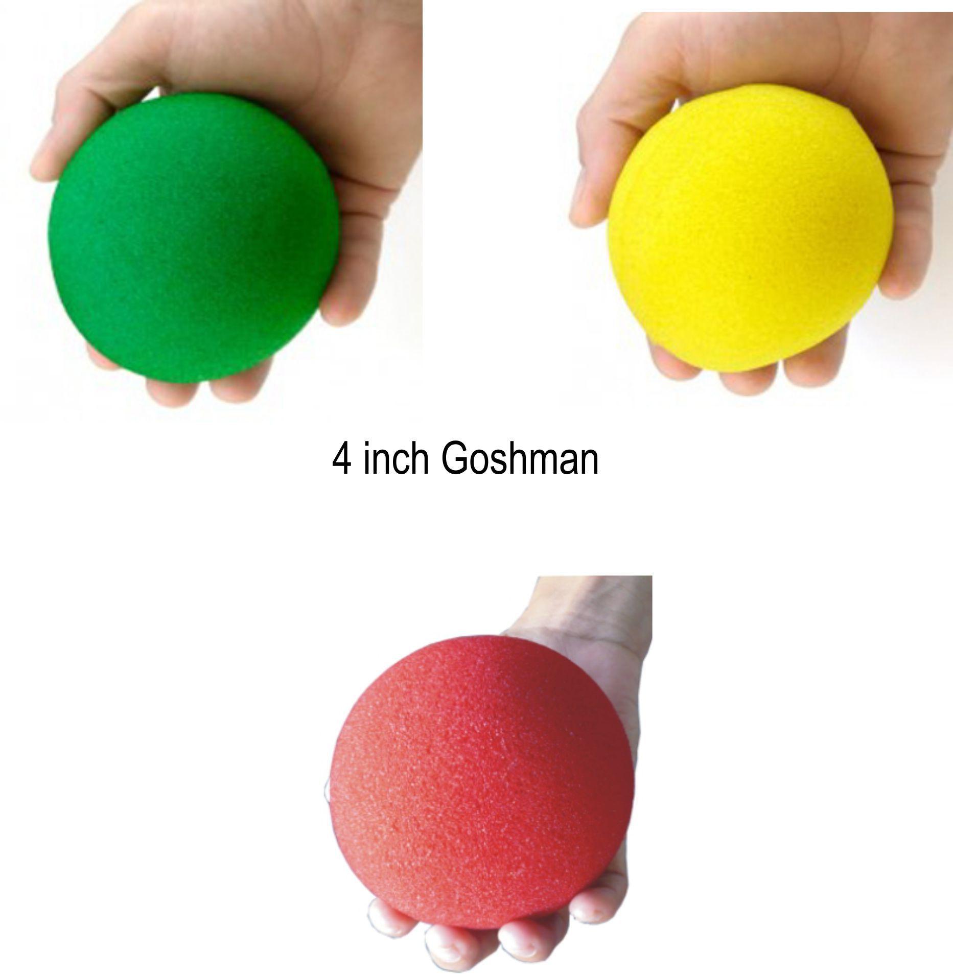 Bola de Espuma grande Jumbo super soft 4 Inch escolhe sua cor B+