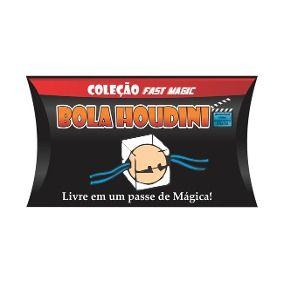 BOLA HOUDINI - COLEÇÃO FAST MAGIC Nº 12