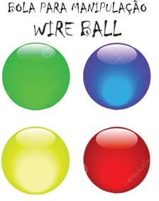 Bola Para Manipulação - Wire Ball Ed Magic R+