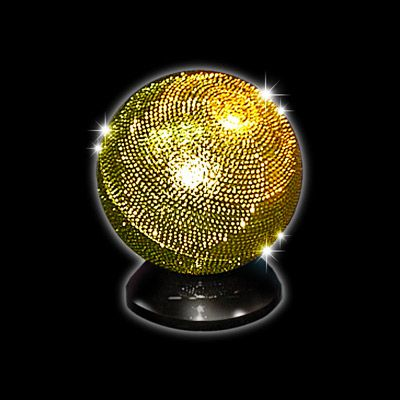 Bola Zombie Prateada ou dourada  - Vernet R+