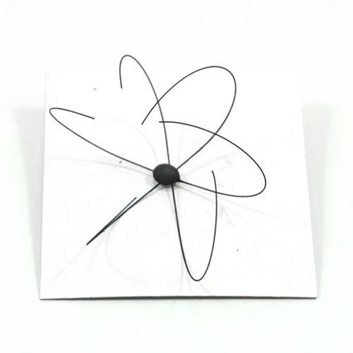 Botão de rosa em Lenço - Flower to silk Nielson Thompson spider