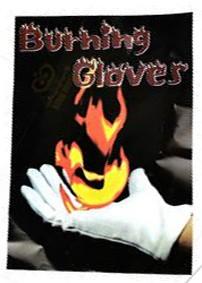 BURNING GLOVES PRETO - LUVAS FOGO
