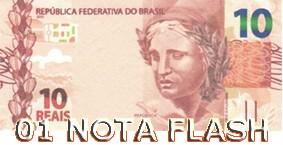 BURNING MONEY - NOTA FLASH 10 REAIS