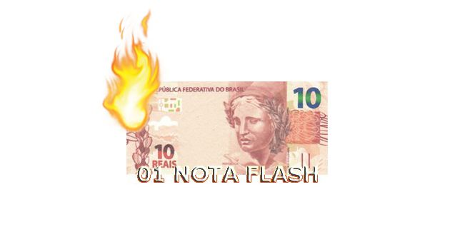 Burning Money - (Nota Flash) 10 Reais. F+