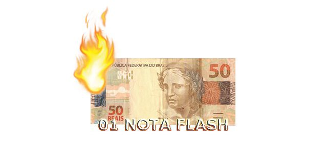 Burning Money - Nota Flash 50 Reais F+