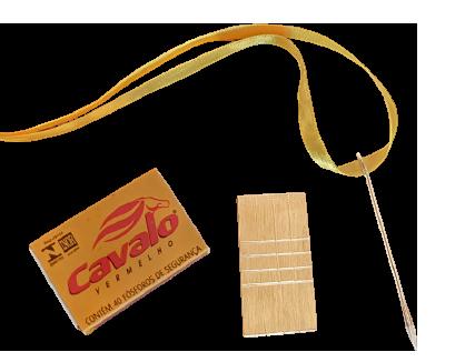 Caixa de fósforos em bloco de latão - Match box penetration Brass B+