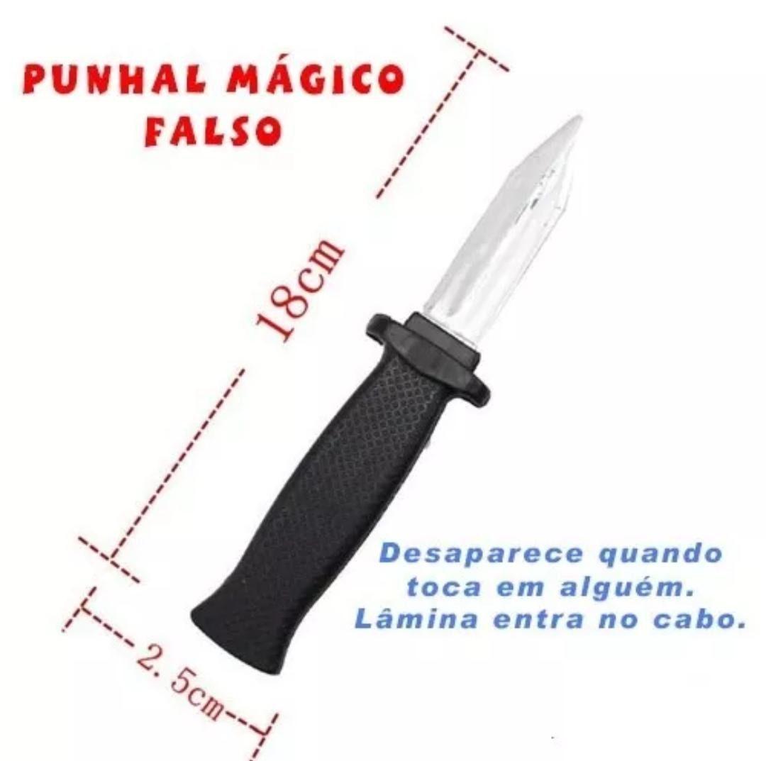 CANIVETE DE MENTIRA - PUNHAL MAGICO - faca do Bolsonaro para petistas